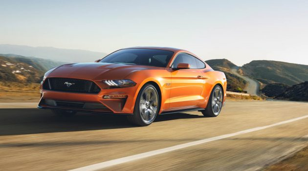 Ford Mustang 小改款即将面世,野马这次跑得更快了!