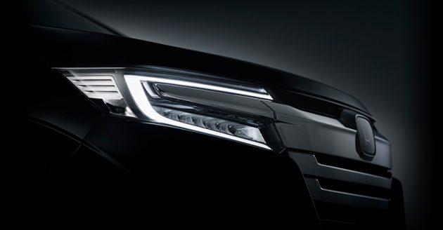 Honda StepWGN 小改款宣传照曝光,好漂亮的车头灯!