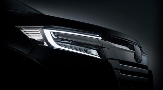 Honda StepWGN 小改款头灯照官网曝光,是即将来临的节奏吗?