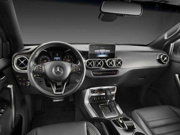 Mercedes-Benz X-Class 豪华皮卡正式发布,2018年推出市场!