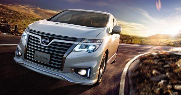 Nissan Elgrand 全新姿态出击,大改款将于2018年现身!