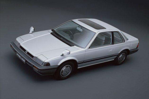 Honda Prelude 即将复出?后轮驱动的涡轮双门跑车!