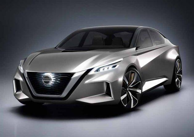 Nissan Teana 大改款2018年现身,备有ProPILOT半自动自动驾驶技术! | automachi.com