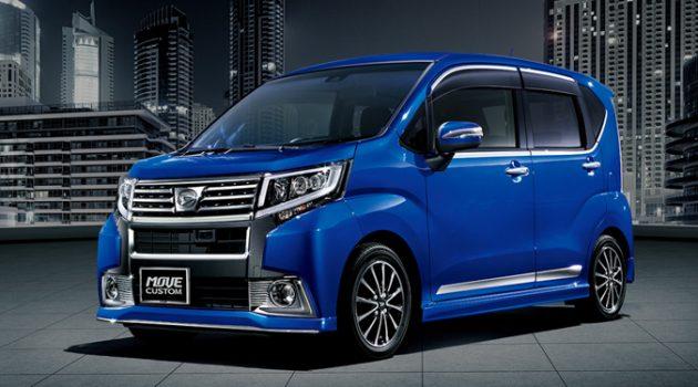 Daihatsu Move 8月推出小改款,安全系统进一步升级!
