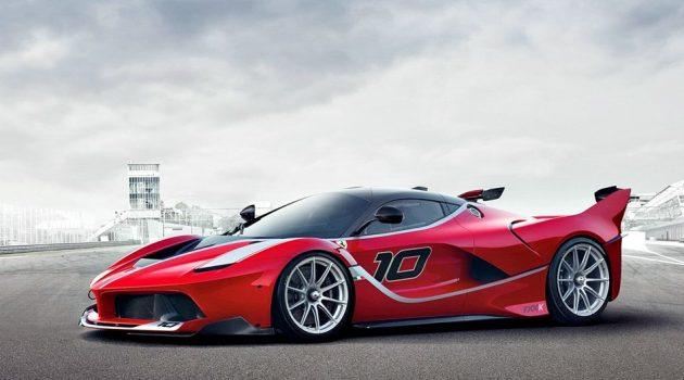 Ferrari FXX K 极速狂奔影片,副驾驶的表情告诉你它有多快!