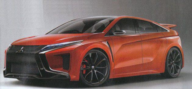 Mitsubishi EVO 新世代张这样?运动SUV也可以很帅!