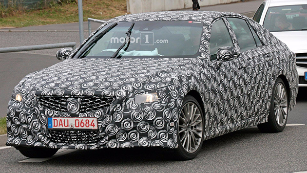 Lexus GS 还有换款?疑似测试车曝光,而且还搭载混合动力组合!