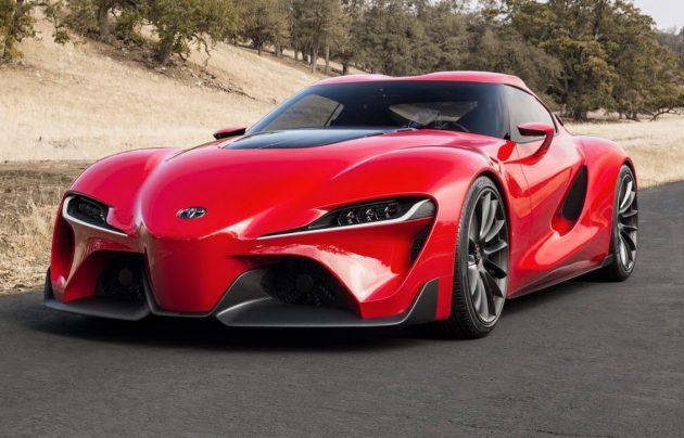 Toyota Supra 将于东京车展亮相,订于2018年1月上市!