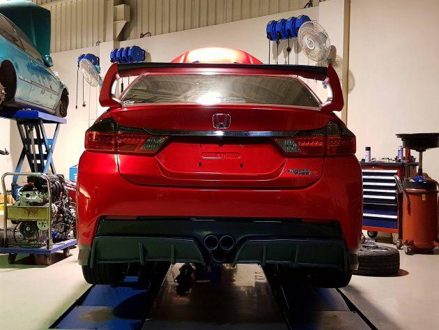 Honda City GM6也来凑热闹,换装红顶K20A!