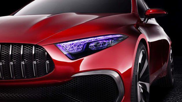 Mercedes-Benz A-Class Sedan 预想图曝光,你喜欢新一代的家族设计吗?
