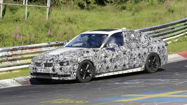 BMW 3 Series 新一代预计2018年亮相,更轻更硬更快!