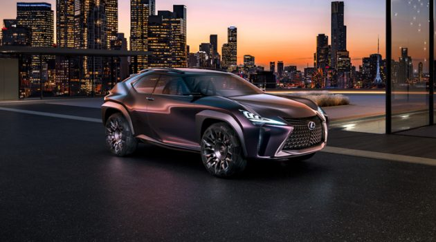 Lexus UX 来了!全新Lexus入门SUV车型11月亮相东京车展!