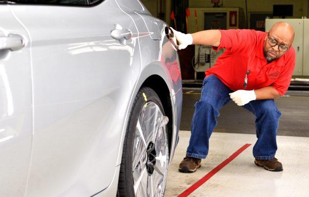 Toyota Camry 美国生产线宣传影片,看见了原厂的一丝不苟!