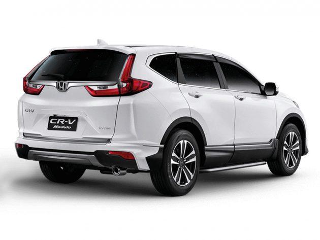 Honda CR-V 推出专属Modulo空力套件,你觉得好看吗?
