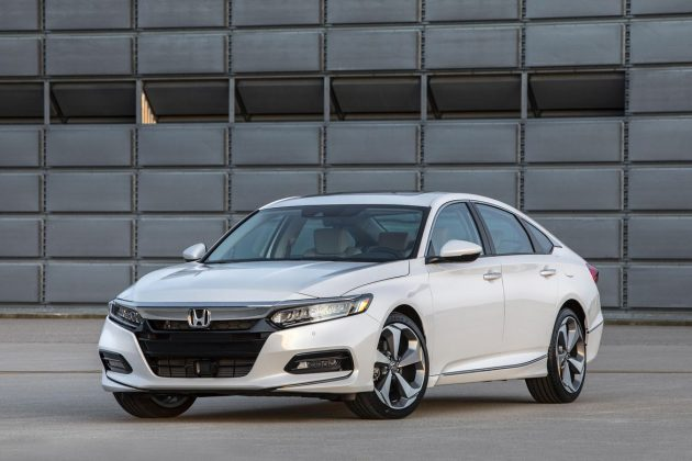 Honda Accord 新旧车型外观对比,看一看有什么差别!
