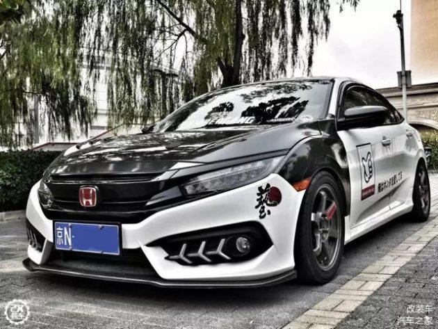 Honda Civic FC 暴走族风格,今天要说一则改装车的故事!