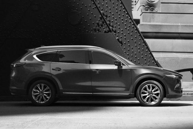 Mazda CX-8 官方照再度释出,这次轮到车侧!