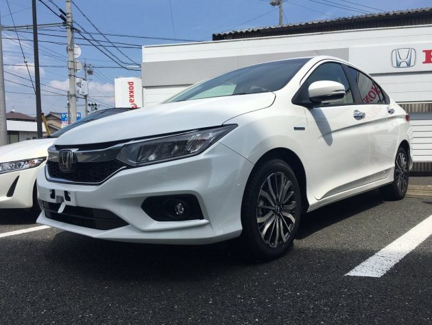 Honda City Hybrid 小改款现身日本展示厅,马来西亚今年登场?