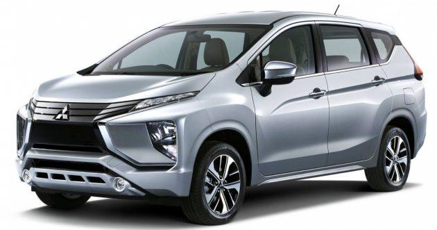 Mitsubishi Xpander 才对!全新Mitsubishi 7人车全名曝光!