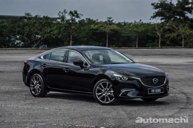 Mazda6 GVC Skyactiv-D ,欧美范儿的D-Segment房车!