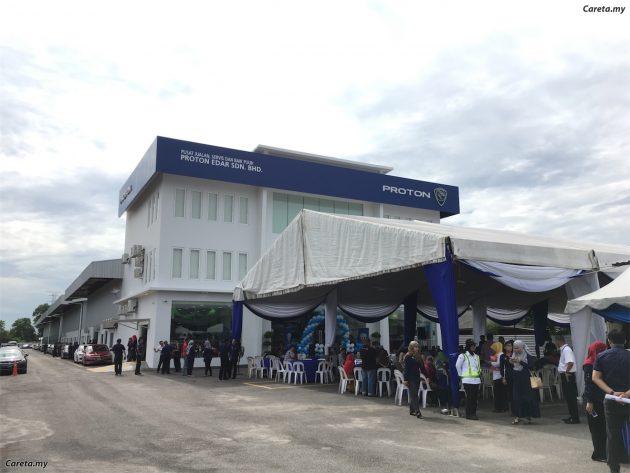 Proton 于麻坡开设南马区最大的4S维修中心!