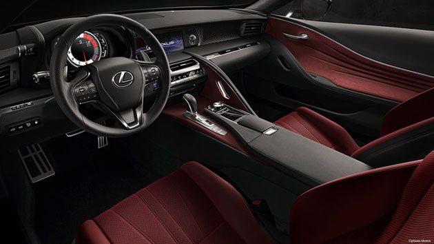 Lexus LC-F 最快明年登场!取代LFA地位!