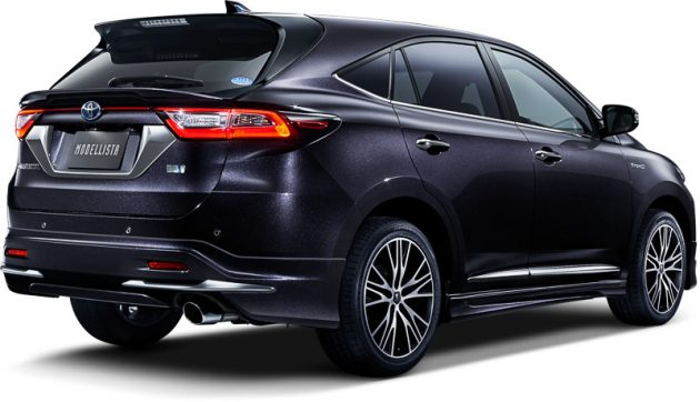 Toyota Harrier 小改款官方大包围空力套件正式推出!