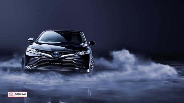 Toyota Camry XV60 亚洲版首发!日本直邮Hybrid可以选择!