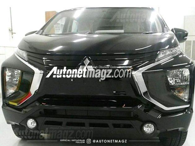 Mitsubishi Expander 实车照现身,全车头造型曝光!