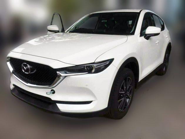 Mazda CX-5 2017 全新SUV现身我国!