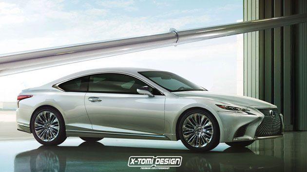 Lexus LS-F 实车现身!4.0 V8涡轮引擎最大马力600 ps!