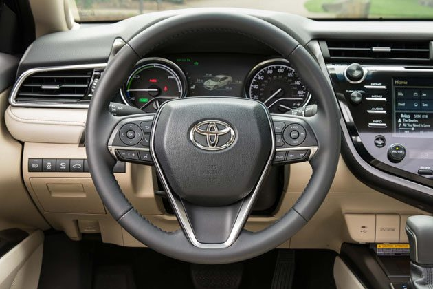 2018 toyota camry hybrid xle steering wheel. Black Bedroom Furniture Sets. Home Design Ideas