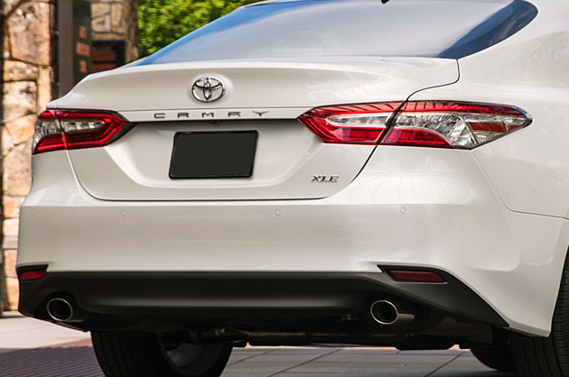 2018 toyota camry xle rear taillights for Honda financial payoff phone number