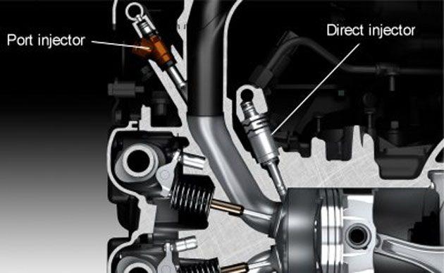 Toyota独家技术: D-4S 双喷射技术!