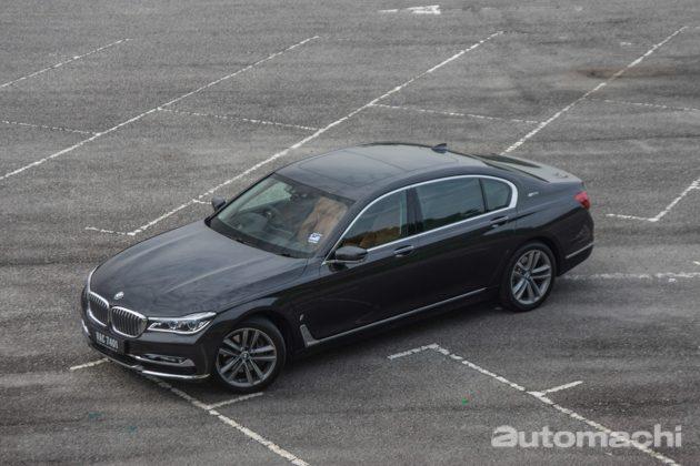 BMW 740Le ,没有办法拒绝的豪华和性能!