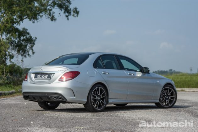 Mercedes-AMG C43 4Matic ,V6 双涡轮的魅力!