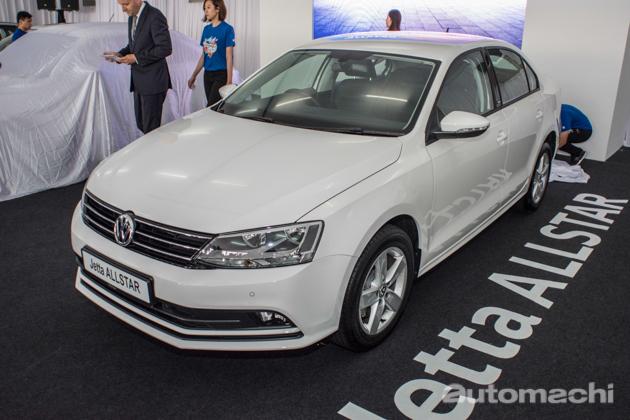 Volkswagen 推介 Jetta ALLSTAR 及国庆60周年特别版 Beetle 。