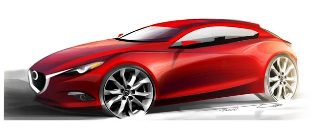Mazda3 概念车将亮相东京车展,搭载 HCCI 引擎!