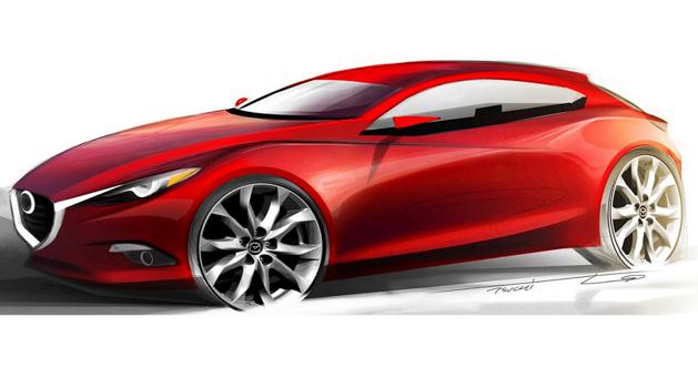 Mazda3 概念车将亮相东京车展,搭载HCCI引擎!