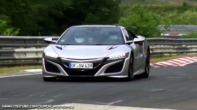 Acura NSX Type R 纽柏林赛道测试中?最大马力650 ps!
