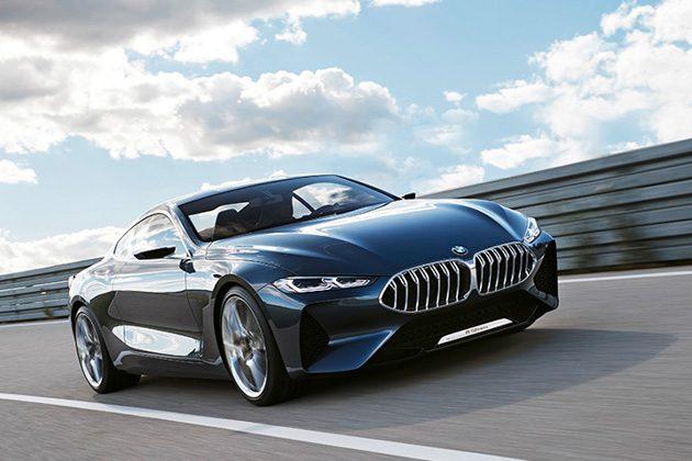 大师兄回来了! BMW 8 Series 伪装现身赛道!