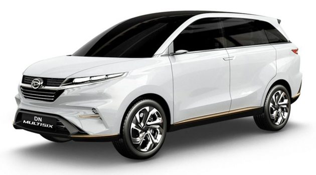 Daihatsu DN Multisix 6人座概念车:Perodua Alza的继承车?