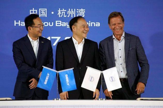 Volvo 和Geely正式签订合作协议,未来将共享技术资源!