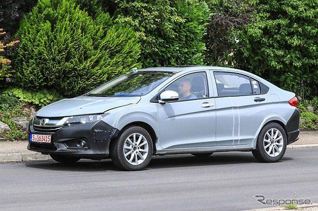 Honda Insight 伪装车疑似被捕获,今年东京车展亮相!