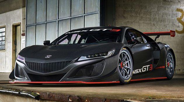 Honda NSX GT3 赛车版上市,2018年起正式进军GT3!