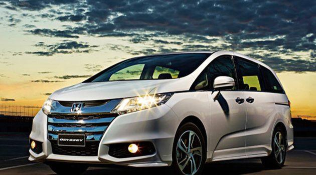 Honda Odyssey 小改款12月推出,Honda SENSING 再升级!