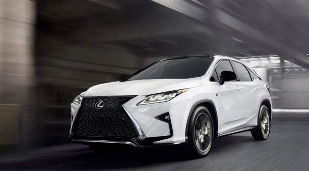 Lexus RX 7人版路试被捕获,第三排空间曝光!