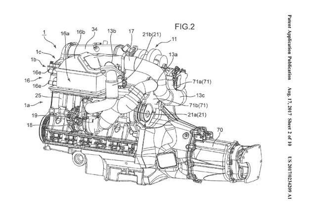 Mazda 又有新专利,这次轮到双涡轮加电子增压!