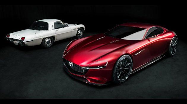 Mazda RX-9 细节曝光!将使用『天鹅翼』车门!