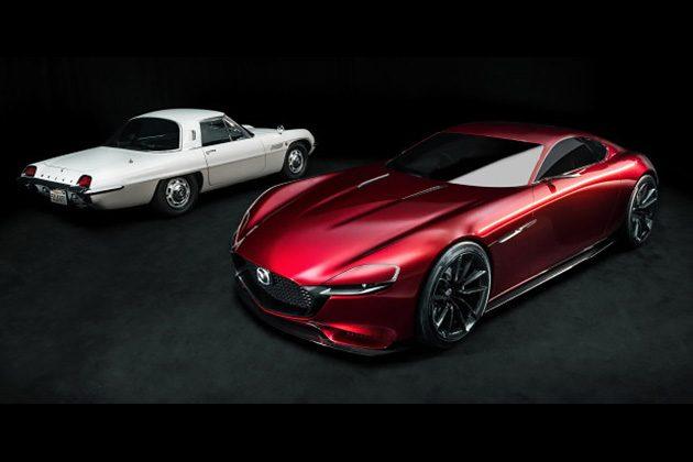 Mazda RX-9 将使用『天鹅翼』车门!